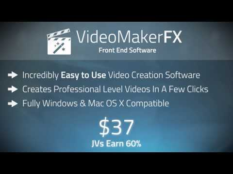 VideoMakerFX JV & Affiliate Invitation